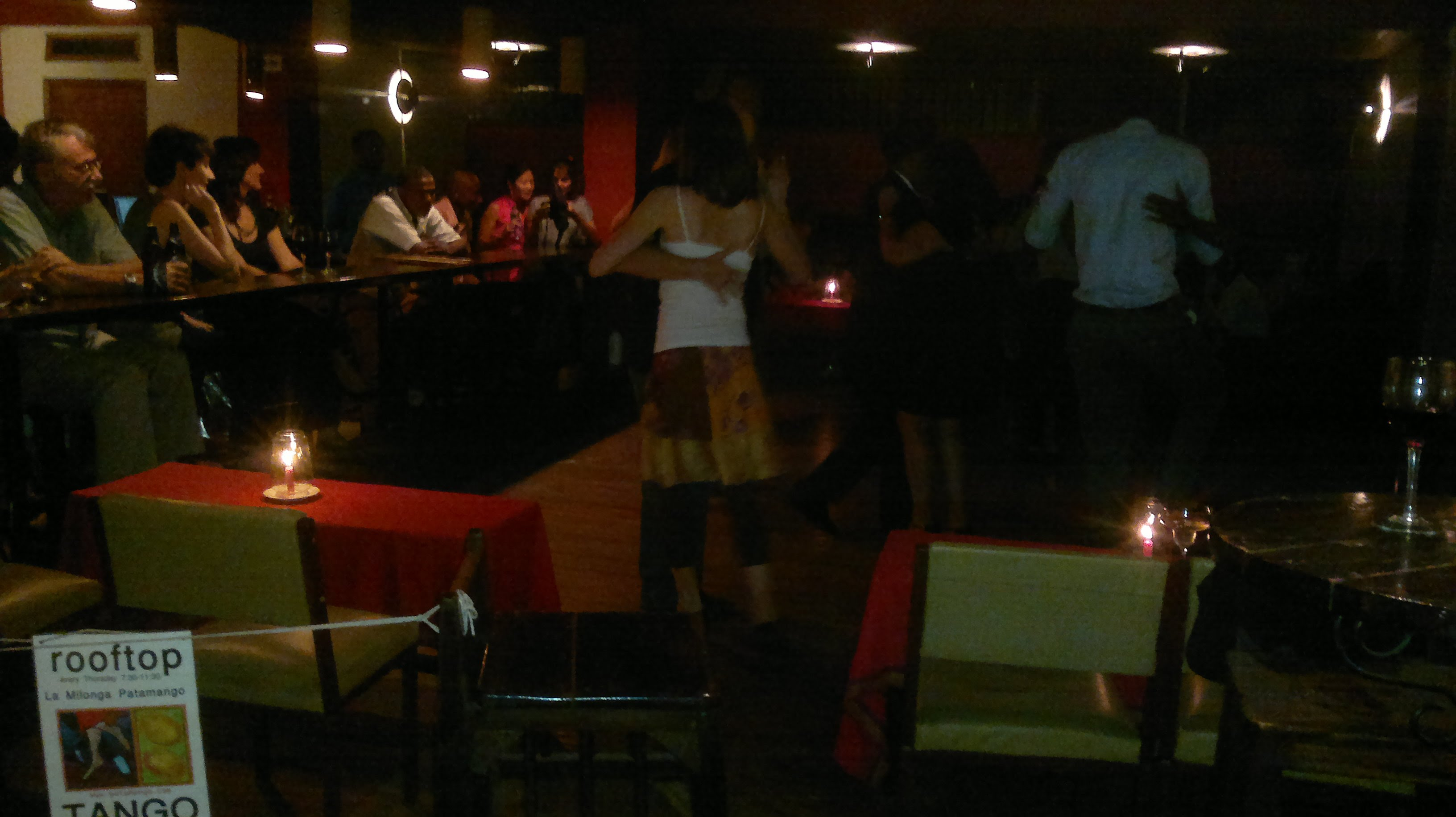 La Milonga Patamango at Sippers Lounge on Thu 03 April 2014